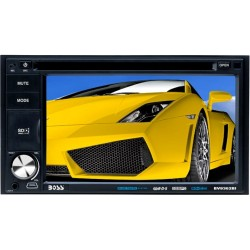 Boss Audio Systems - BV9362BI - BOSS AUDIO BV9362BI Double-DIN 6.2 inch Touchscreen DVD Player, Receiver, Bluetooth, Wireless Remote - Plays   CD?R/RW, DVD?R/RW, MP3/DVD/CD/USB/SD
