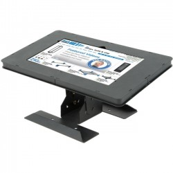 Rack Solution - 114-4268 - Innovation Wall Mount for Tablet PC, iPad - Steel - Black Powder Coat