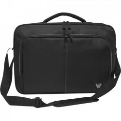 V7 - CCV2-9N - V7 Vantage CCV2-9N Carrying Case for 17 Notebook - Black, Gray - Shock Resistant, Water Resistant - Denier Nylon, Polyester - Shoulder Strap, Handle Carrying Case for 17 Notebook