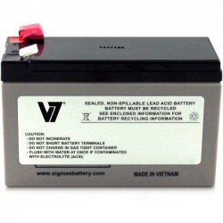 V7 - RBC17-V7 - V7 RBC17 UPS Replacement Battery for APC - 24 V DC - Lead Acid - Maintenance-free/Sealed/Spill Proof - 3 Year Minimum Battery Life - 5 Year Maximum Battery Life