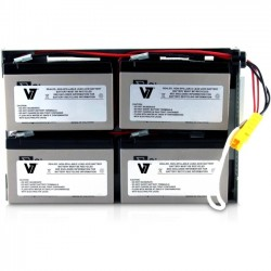 V7 - RBC24-V7 - V7 RBC24 UPS Replacement Battery for APC - 48 V DC - Sealed Lead Acid (SLA) - Leak Proof/Maintenance-free - 3 Year Minimum Battery Life - 5 Year Maximum Battery Life