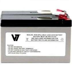 V7 - APCRBC109-V7 - V7 RBC109 UPS Replacement Battery for APC APCRBC109 - 12 V DC - Lead Acid - Maintenance-free/Sealed/Spill Proof - 3 Year Minimum Battery Life - 5 Year Maximum Battery Life