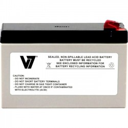 V7 - APCRBC110-V7 - V7 RBC110 UPS Replacement Battery for APC APCRBC110 - 24 V DC - Lead Acid - Maintenance-free/Sealed/Spill Proof - 3 Year Minimum Battery Life - 5 Year Maximum Battery Life