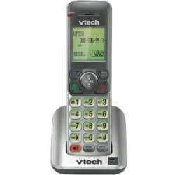 AT&T / VTech - DS6601 - VTech Accessory Handset with Caller ID/Call Waiting - Cordless - Silver, Black