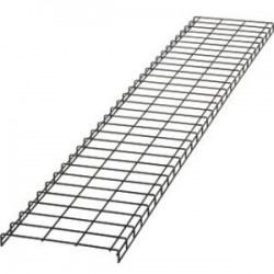 Panduit - WG18BL10 - Panduit PatchRunner Cable Basket - Cable Manager - Black Powder Coat - 10 Pack - Steel