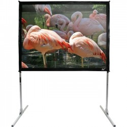 Elite Screens - ZQ100H1-FP - Elite Screens QuickStand ZQ100H1-FP Projection Screen - 100 - 16:9