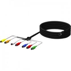 ZeeVee - ZV709-6-X20 - ZeeVee DIN Audio/Video Cable - DIN for Audio/Video Device - 6 ft - DIN Proprietary Connector - Black