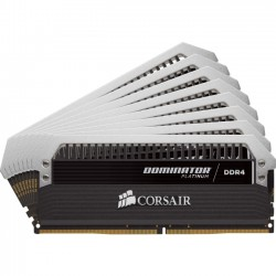 Corsair - CMD128GX4M8A2666C15 - Corsair 128GB DDR4 SDRAM Memory Module - 128 GB (8 x 16 GB) - DDR4 SDRAM - 2666 MHz DDR4-2666/PC4-21300 - 1.20 V - Unbuffered - 288-pin - DIMM