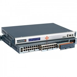 Lantronix - SLC80162401S - Lantronix SLC 8000 Advanced Console Manager - 16 Ports, Dual DC Supply - Remote Management