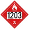 J.J. Keller - 3384J - 1203 (Class 3) Gasoline Placard