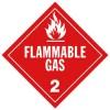 J.J. Keller - 356J - Flammable Gas (Class 2) Placard
