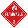 J.J. Keller - 524J - Flammable Gas (Class 3) Placard