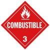 J.J. Keller - 577J - Combustible (Class 3) Placard