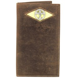 Other - 1704M03 - Rodeo Wallet with Diamond Cut Cross Concho