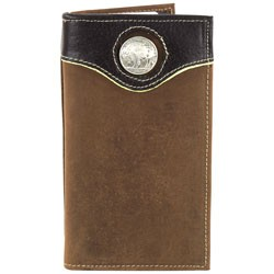 Other - 1705M01 - Rodeo Wallet with Buffalo Nickle Concho