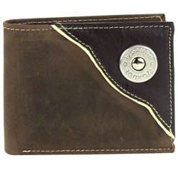 Other - 1710M02 - Bi-Fold Rodeo Wallet with Shotgun Shell Concho
