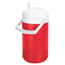 Igloo - 2204 - 1 gal. Red Beverage Cooler