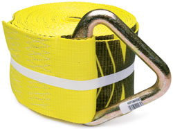 Kinedyne - 423010 - 4x30' Winch Strap with Delta Ring