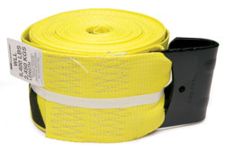 Kinedyne - 423021 - 4x30' Winch Strap with Flat Hook