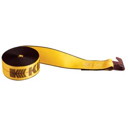 Kinedyne - 424521 - 4x45' Winch Strap with Flat Hook