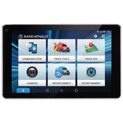 Rand McNally - 7PRO - OverDryve(TM) 7 Pro Truck Navigation with 7 Display Bluetooth & SiriusXM