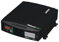 Xantrex - 806-1220 - Xantrex PROwatt SW 2000 DC-to-AC Power Inverter - Input Voltage: 12 V DC - Output Voltage: 127 V AC, 5 V DC - Continuous Power: 2000 W