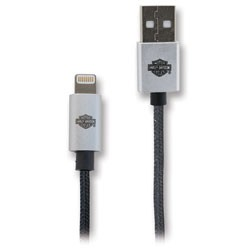 FoneGEAR - 8318 - 6 Harley-Davidson Lightning to USB Braided Cable
