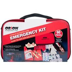 Orion Safety - 8907 - Premium 60-Piece Emergency Roadside Kit