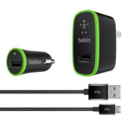 Belkin - BEL66559 - 2.4 Amp Charging Kit with Micro-USB Cable