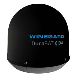 Winegard - CM2035T - DuraSAT D4 In-Motion Satellite TV for Trucks Black