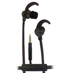 ecko - EKUCBTCGRN - Combat Series Stereo Earphones Camo Green