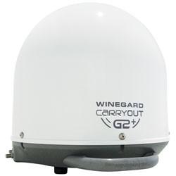 Winegard - GM6000 - Winegard Carryout G2+ Antenna - Satellite Communication - White - Roof-mountable