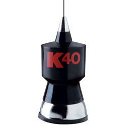 K40 Electronics - K-40 - K40 Base Loaded Antenna - Whip
