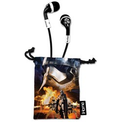 Disney Interactive - LIM15E7FX - Noise-Isolating Earbuds with Microphone Star Wars