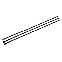 "3M - PB15BK50-C - UPC 00-051128-59349-3 15"" Black 50 LB Plain Cable Tie - 100/bag (41977)"