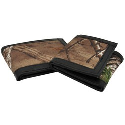 Realtree - PDQRT24F - Men's Camouflage Wallets with Trim 24-Piece Assortment PDQ