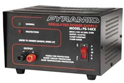 Pyramid Car Audio - PS14KX - Pyramid Gold PS14KX Proprietary Power Supply - 110 V AC Input Voltage - External