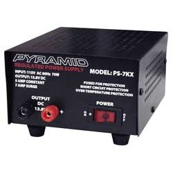 Pyramid Car Audio - PS7KX - Pyramid Gold PS7KX Proprietary Power Supply - 110 V AC Input Voltage - 60% Efficiency