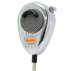 RoadKing - RK56CHSS - Noise Cancelling CB Microphone, Silver