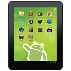 DPI / GPX - TBDB863B - 8 Tablet with 8GB Memory Bluetooth(R) Micro USB & Micro SD Reader Black
