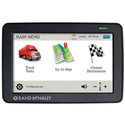 Rand McNally - TND530LM - IntelliRoute TND(TM) 530 LM Truck GPS with Lifetime Maps