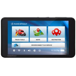 Rand McNally - TND540 - TND 540 Navigation with 5 Display WiFi and Low Profile Design
