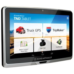 Rand McNally - TND7TAB - TND(TM) Tablet 70 with 7 Display GPS and DashCam