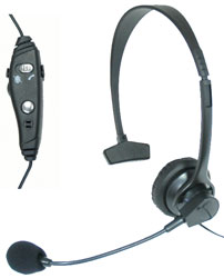Cellular Innovations - UEM3000 - Professional Over-the-Head Hands Free Boom Mic - Universal 2.5mm