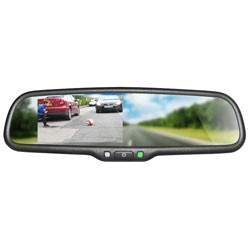 Boyo - VTB46M - 4.3 OE Style Replacement Type Mirror Monitor with Bluetooth(R)