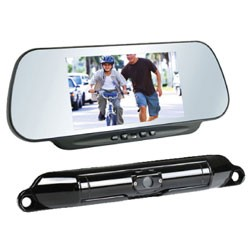 Boyo - VTC464RB - Wi-Fi Wireless License Plate Camera and 6 Monitor System