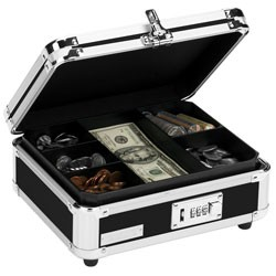 Vaultz - VZ010022 - Locking Cash Box