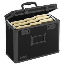 Vaultz - VZ03588 - Locking Personal Storage Tactical Box Black