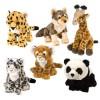 Wild Republic - 11811 - Cuddlekins 12 Plush Stuffed Animal Assortment