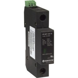 Smiths Power - 1104-15-000 - Transtector I2R IEP 120-10 120VAC DIN Rail Surge Protection